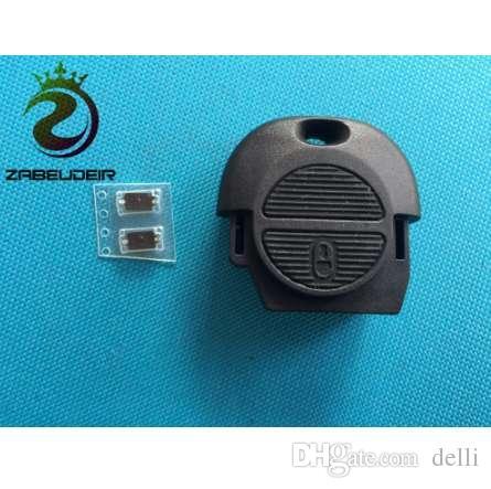 Zabeudir 1 قطعة نوعية جيدة بعيد فوب مفتاح شل لنيسان ميكرا الميرا بريميرا اكس تريل 2 أزرار مفتاح السيارة حالة تغطية لا بليد