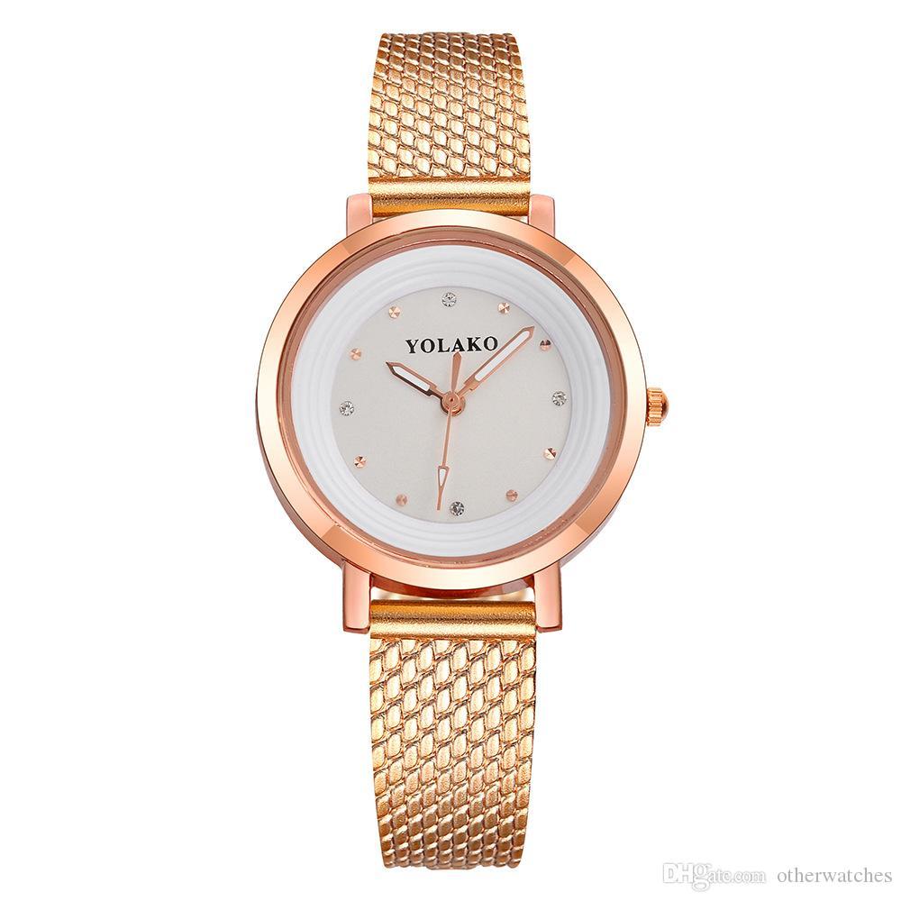 Point drill calibration lady watch fashion diamond watch quartz watch Wristwatches