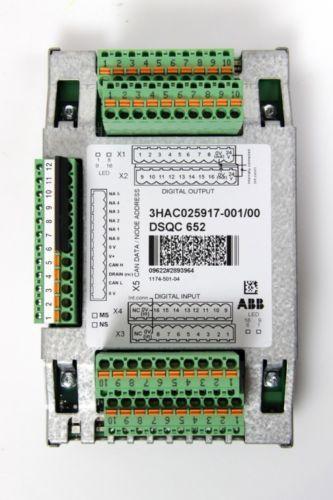 ABB Robot DSQC652 3HNA025917-001 Carte IO numérique IRC5 IRC5P