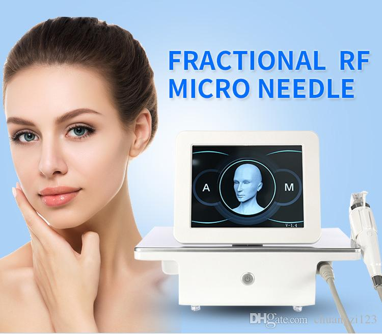 portable Radio Frequency microneedle fractional rf face lifting Stretch marks removal beauty salon equipment with 4 tips needle
