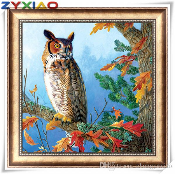5D DIY Full Drill Diamond Painting Animal Embroidery Mosaic Craft Kit Decor FG#1