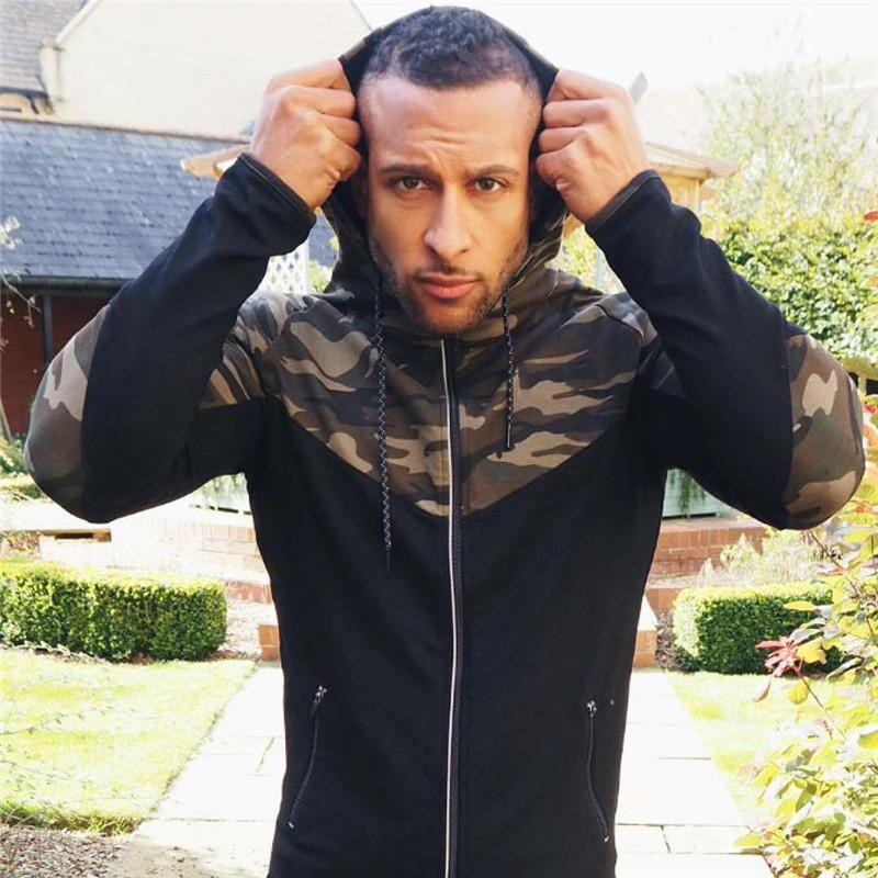 Casual Hip hop Hoodies jacket men-5