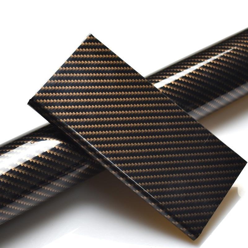 50*100cm 5D Glossy Black Carbon Fiber Car Body Film Matte Purple Interior Vinyl Wrap PVC Stickers for Car Styling