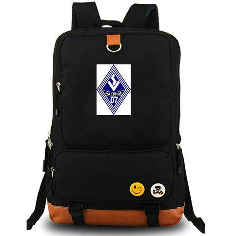Мангейм рюкзак Блау Вайс рот рюкзак новый футбольный клуб компьютер прослойка школьный футбол день пакет спортивная школа сумка открытый рюкзак