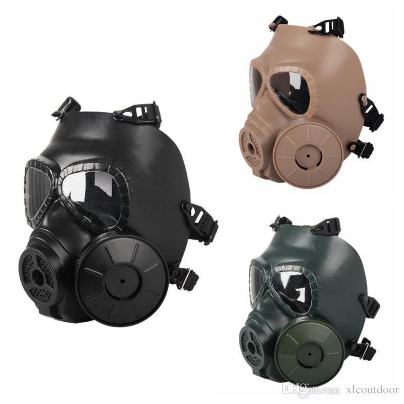 M40 Solo ventilador Máscara de gas CS Filtro Paintball Disparo táctico Ejército Guardia Casco FMA Capacetes De Motociclista