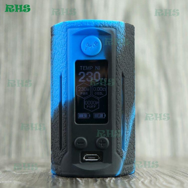 Wismec Reuleaux RX GEN3 Dual Mod 230W TC Mod Silicone Case Cover Skin Wrap for Reuleaux RX GEN 3 Dual Free DHL