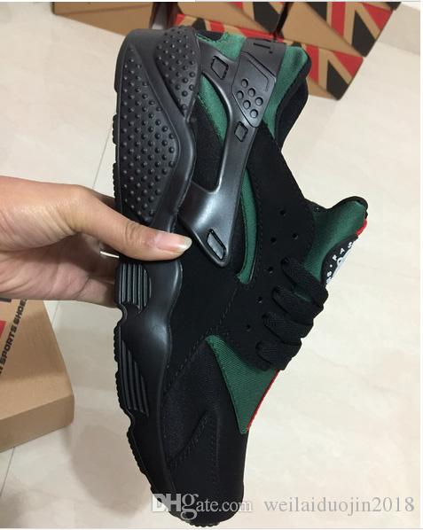 Mode Air Huarache Ultra casual Chaussures Huaraches Arc-En-Ultra Respirer Chaussures Hommes Femmes Huraches Multicolore Sneakers Taille 36-45