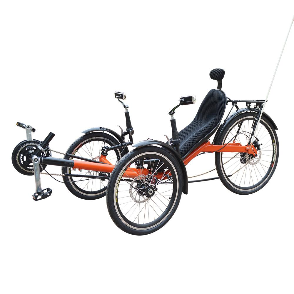 M010 Klapp Liegerad Trike Zwei Vorderräder Zum Verkauf
