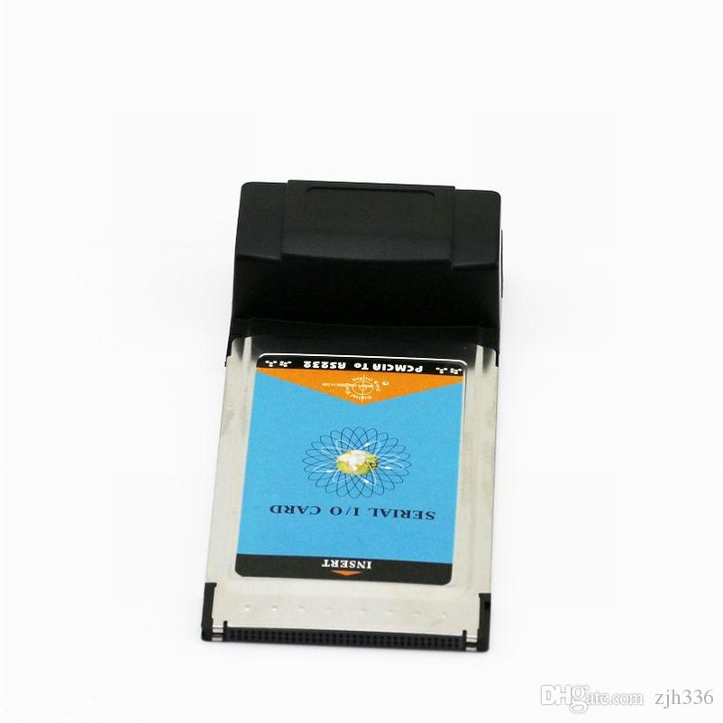PCMCIA To 9pin RS232 RS-232 DB9 Notebook Serial I/O Port to PCMCIA PC 54mm CardBus Card Adapter Laptop