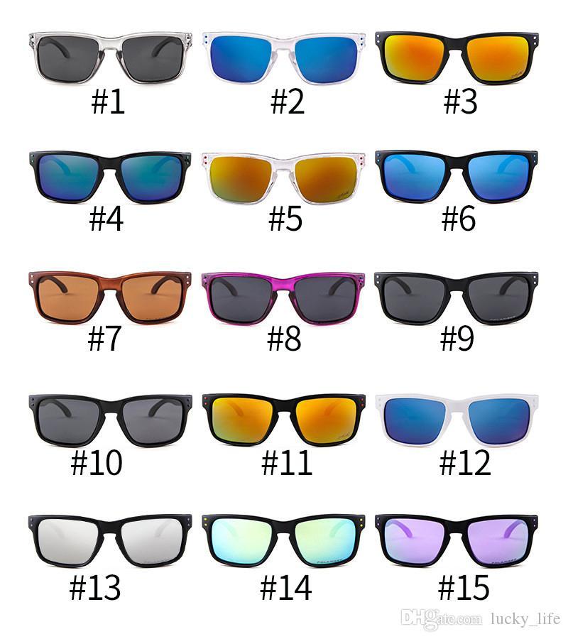 Whosale 15Colors 9102 Sonnenbrille Männer Brillen Sun Sport Radfahren Sunglasse Googles Outdoor Gläser Mode Oculos Polarisierte Marke Frauen U KTFN