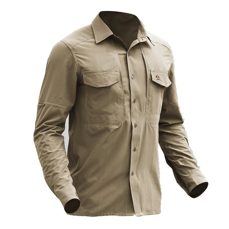 Outdoors Hiking Shirts Shirts Tactical Gear Quick Dry Military Shirt Men Breathable Army Combat Tactical Shirts Elastic New