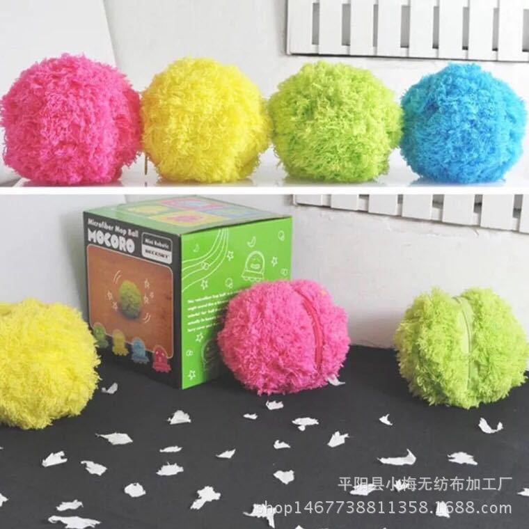 Mocoro الشعر الكرة تجتاح روبوت التلقائي فراغ نظافة أفخم لعبة إزالة الغبار الحيوانات الأليفة