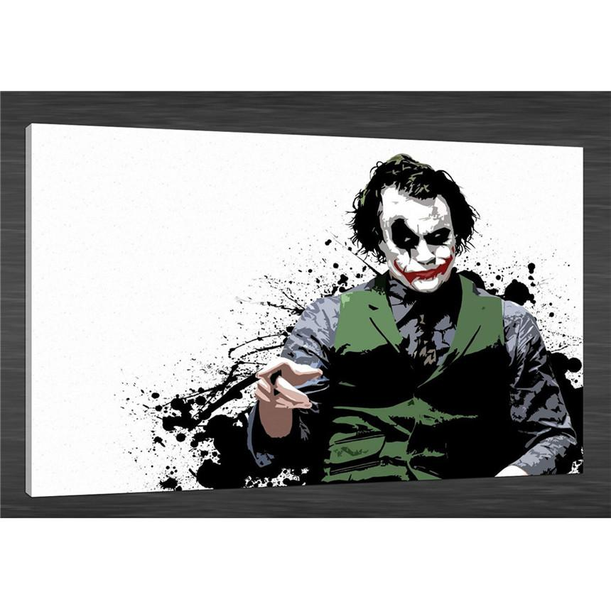 The Joker -1,HD Canvas Print Home Decor Art Painting /(Unframed/Framed)