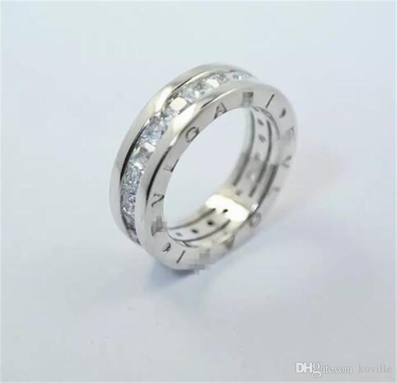 Große Förderung 3ct Echt 925 Silber Ring SWA Element nachgeahmt Diamant Ringe Für Frauen Großhandel Hochzeit Engagement Schmuck KKA1919