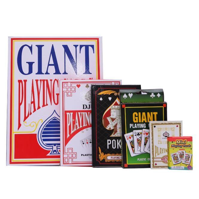 Todo tipo de cartas de juego Naipes Póquer del juego de póker Mini cartas de póker lindas Mini cartas de juego de tamaño X9