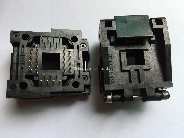 Yamaichi IC Socket IC51-0324-453 PLCC32PIN 1.27mm Pitch Burn In Gniazdo