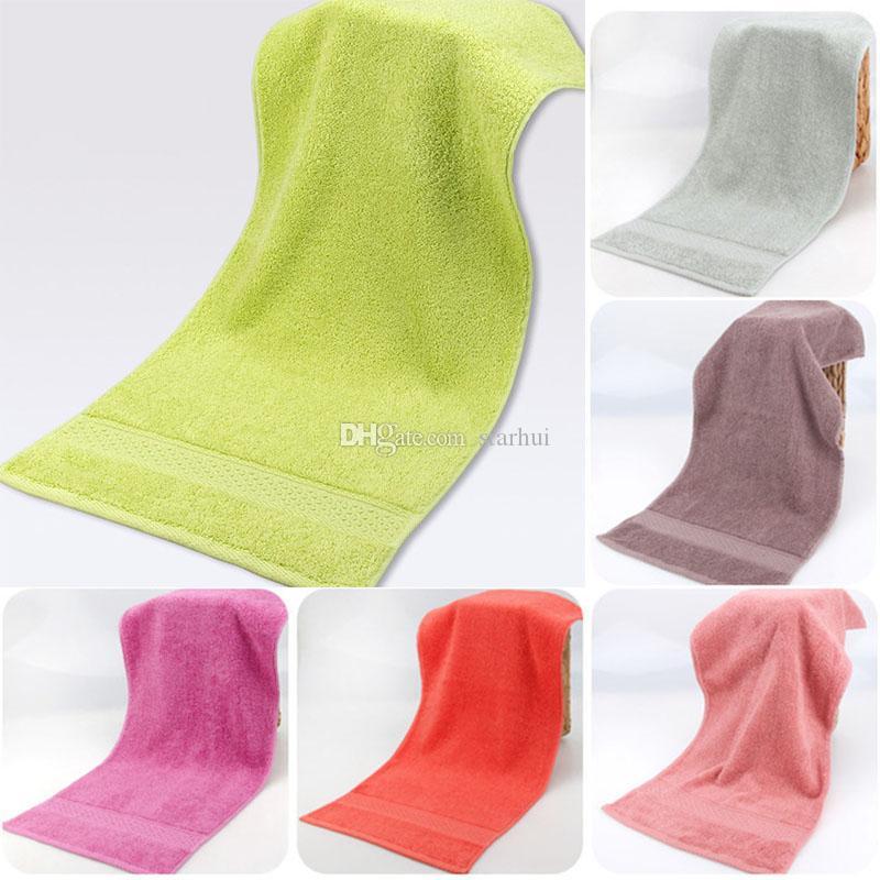 Хлопок полотенца Супер мягкий сильный абсорбент полотенце Мужчины Женщины ребенок ванная комната лицо полотенца Главная отель поставки WX9-1059