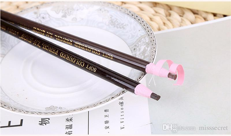high quality roll paper eyebrow pencils