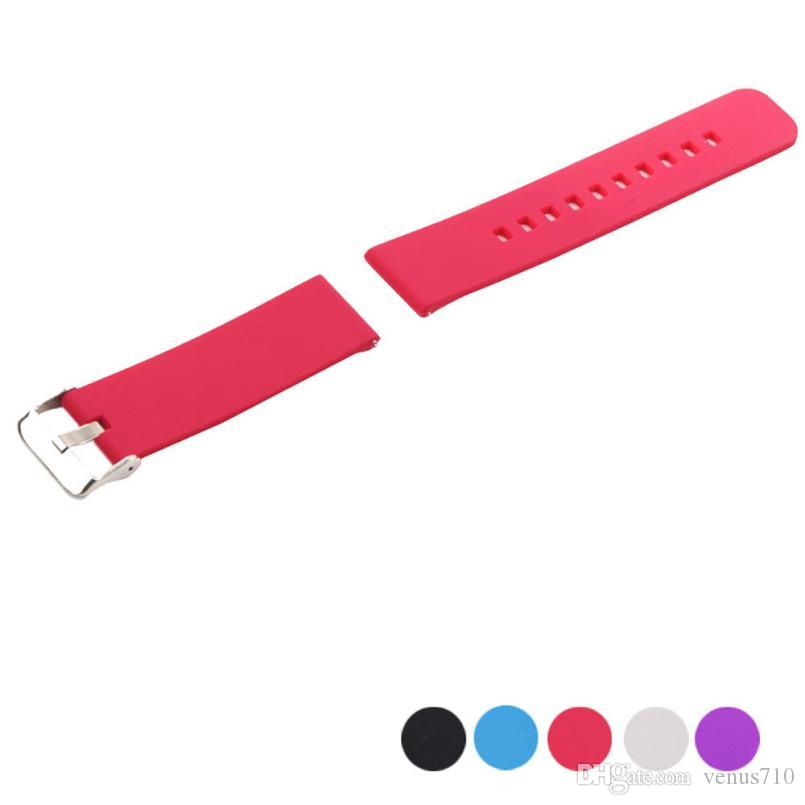 Wholesale-Excellent Quality Superior TPU Replacement Wrist Band For Pebble Time Smart Watch Bracelet free shipping