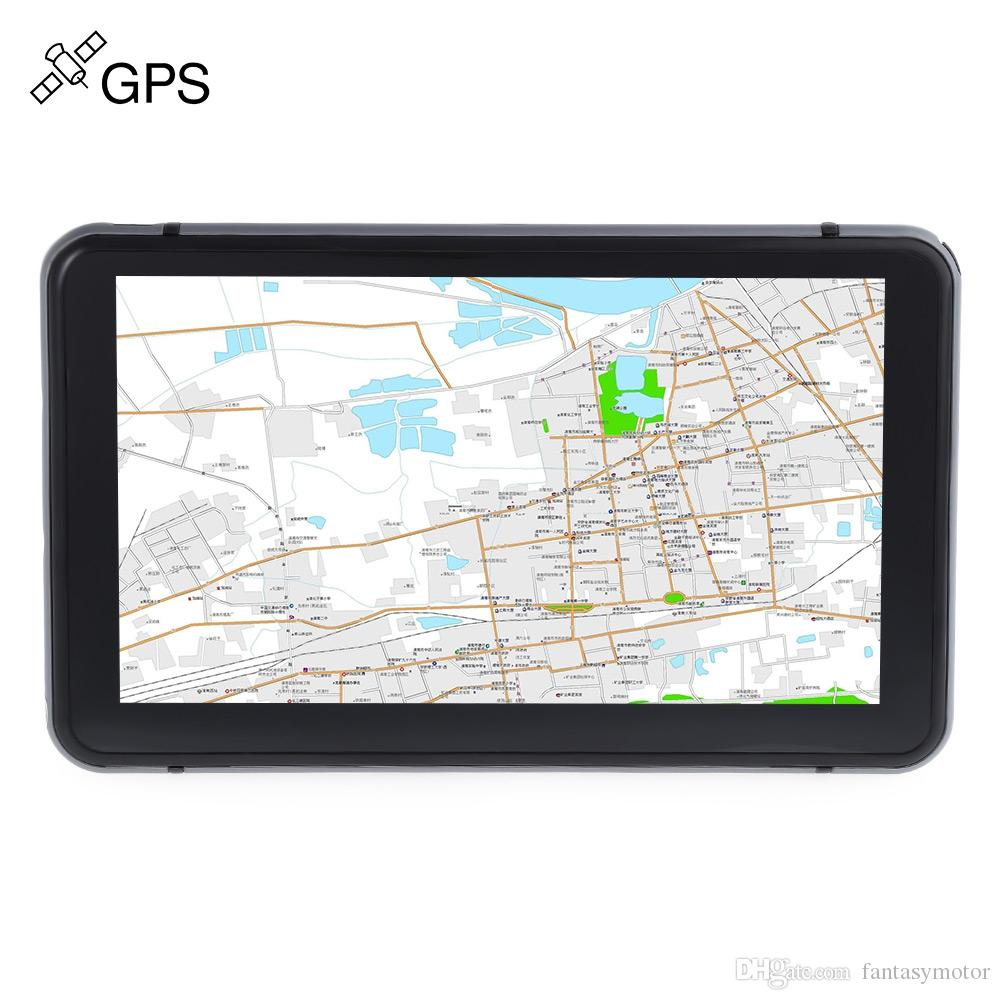 Truck Car GPS Navigation Navigator 7 inch Touch Screen Win CE 6.0 E-book Video Audio Game Player with Free Pre-installed Map Game Player