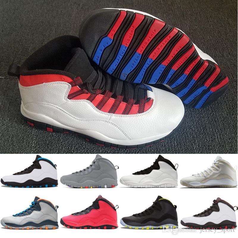 2018 10 10s Westbrook Cool Grey мужская баскетбольная обувь I'm Back Drake Stealth Спортивные кроссовки кроссовки на открытом воздухе дизайнер кроссовки для мужчин