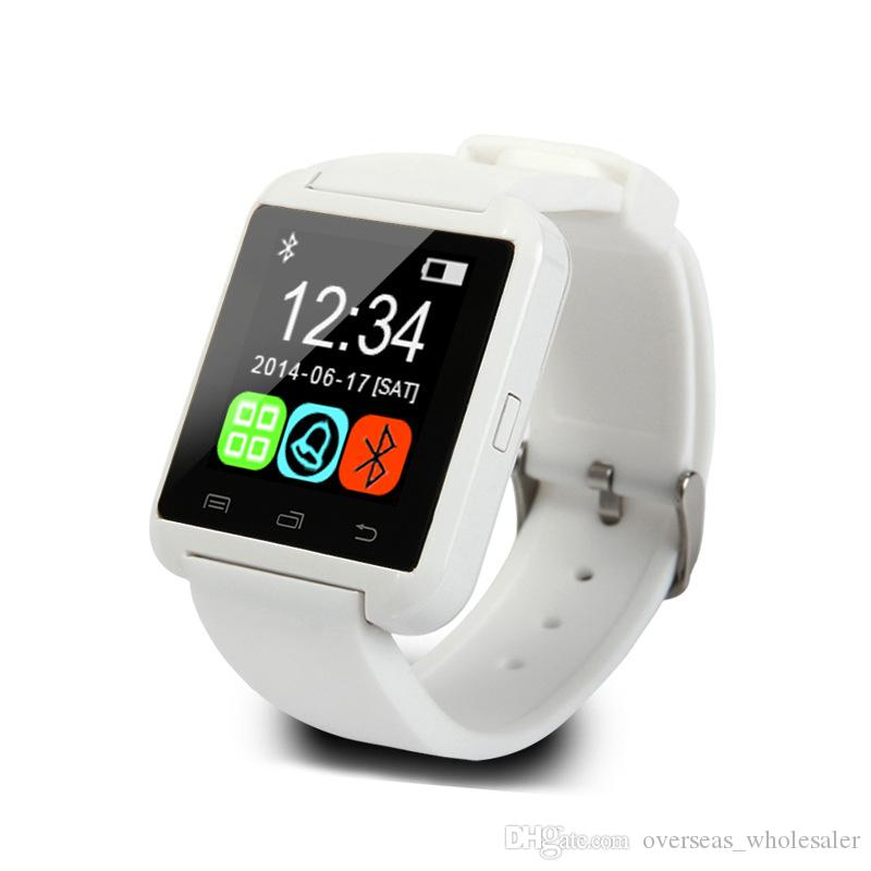 الأصلي U8 بلوتوث سمارت ووتش الروبوت smartwatch الإلكترونية ل أبل ios ووتش الروبوت الذكي ووتش pk GT08 DZ09 a1 m26 t8