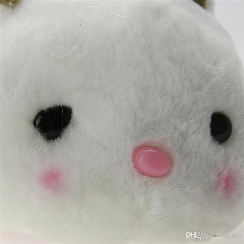 20 см милый ребенок мягкие плюшевые игрушки бантом Кролик маленький кролик чучела животных для девочек день рождения Рождественский подарок