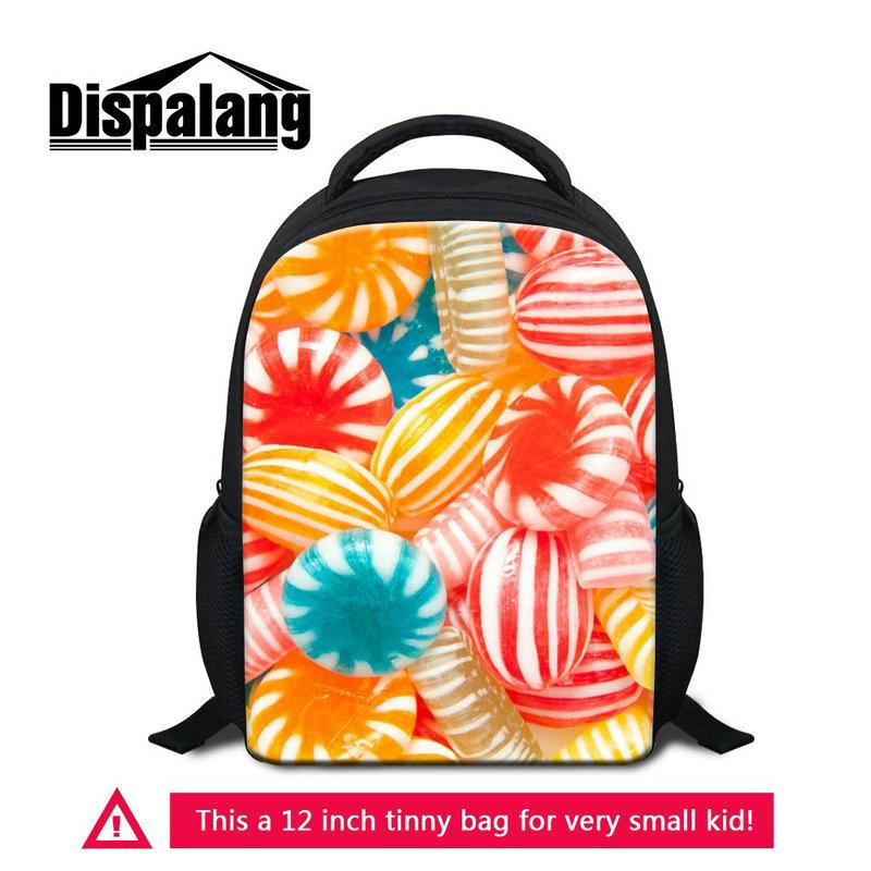 Small Backpack School Bags For Little Children Boys Girl Daypack 12 Inch 3D Pattern Pretty Bagpack Toddlers Mochila