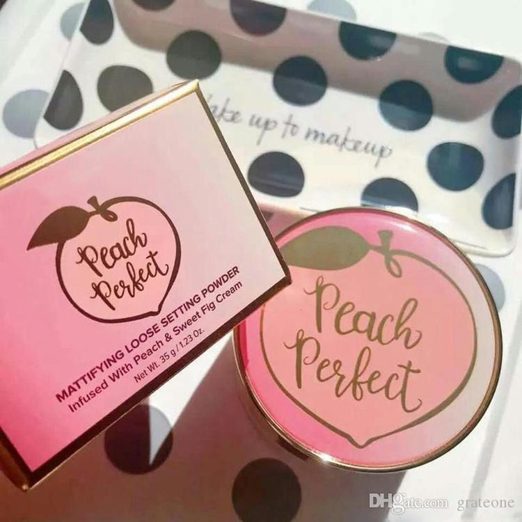 Dropshipping Peach Perfect Mottifience Powder Side Watch Watch Insfused with Peach And Sweet Fig Cream 35G 1.23 OZ.