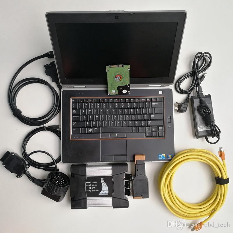 Expert mode Scanner Automotive diagnostic tool for BMW Icom next Icom A+B+C+1TB HDD laptop computer E6420