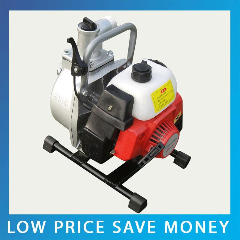 1Inch Agricultural Irrigation Gasoline Water Pump Portable Gasoline Engine Garden Water Pump