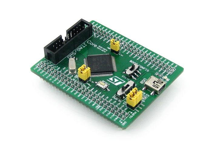 Freeshipping Core107V STM32F1 Core Board STM32 Development Board with STM32F107VCT6 MCU, full IO expander, JTAG/SWD debug interface