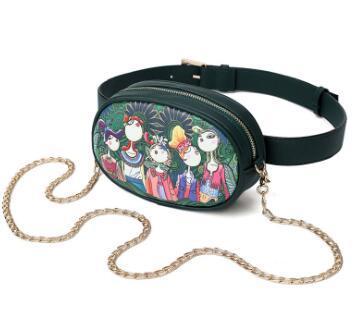 c2c85e8a728b Summer creative printed single shoulder skew across women s bags fashion  fallow