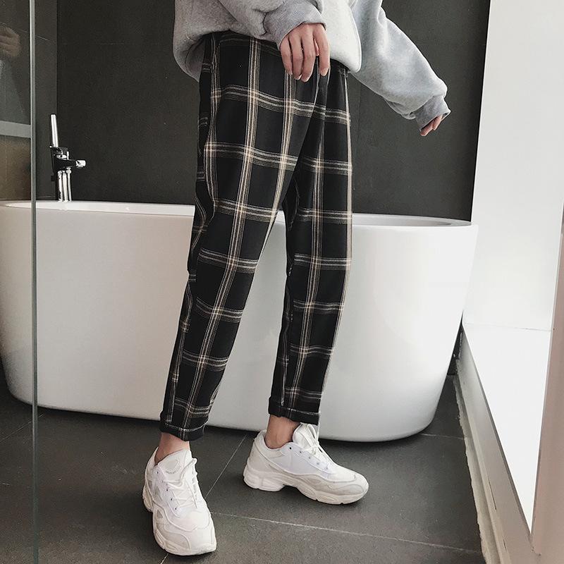 Neue Männer Casual Hosen Neun Punkt Mode Hosen