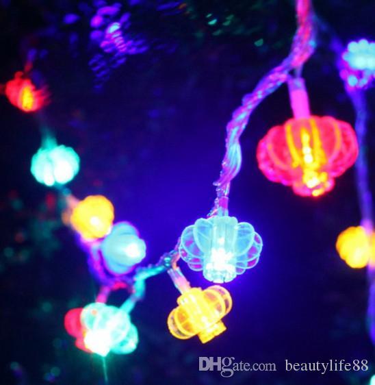 10M100 LED lanterne petite lanterne cordes mariage en plein air arrangé mariage ornements ameublement