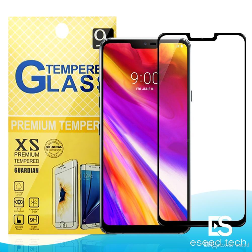 Для J2 CORE LG G7 / STYLO 4 / K10 2018 / Aristo 2 / X Power 2 ZTE Zmax pro Blade 2.5 D полное покрытие закаленное стекло-Экран протектор для телефонов Metropcs