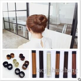 Europa e América Realizar Rapidamente Bun Criador Lady Hairdress Francês Aplauso Anel Acessórios de Cabelo Ferramentas Frete Grátis