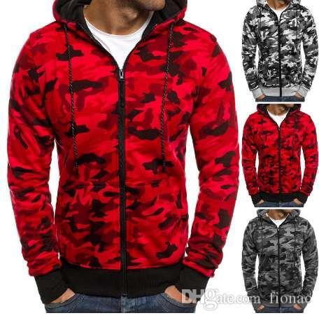 Nowy Bluza Mężczyźni Kamuflaż Drukowanie Flanel Hip Hop Bluza Moda Męskie Bluzy Jesienne Bawełniane Pulower Męski Kapturem