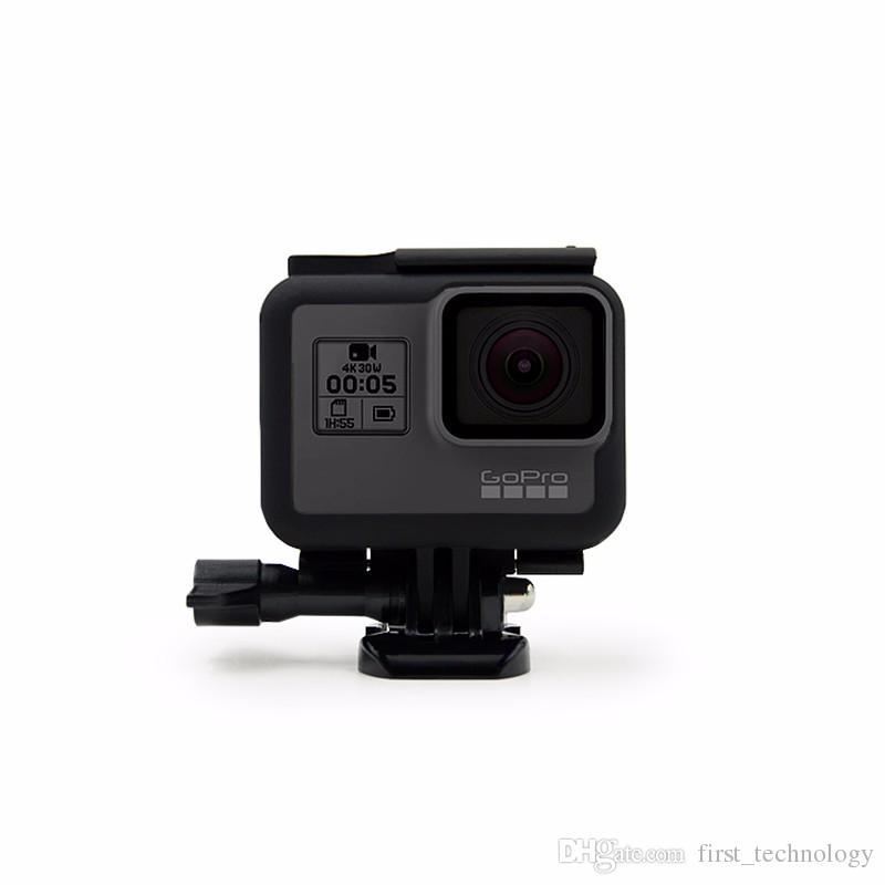 NUEVO protector de la cubierta del caso de la cubierta del parachoques para Gopro Hero 6 5 Vivienda Go Pro Sport Action Camera Accessories