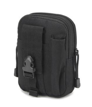 Universal Outdoor Tactical Holster militar cinto saco do esporte que funciona Mobile Phone Case Capa Molle Pacote Purse Bolsa Carteira para o telefone