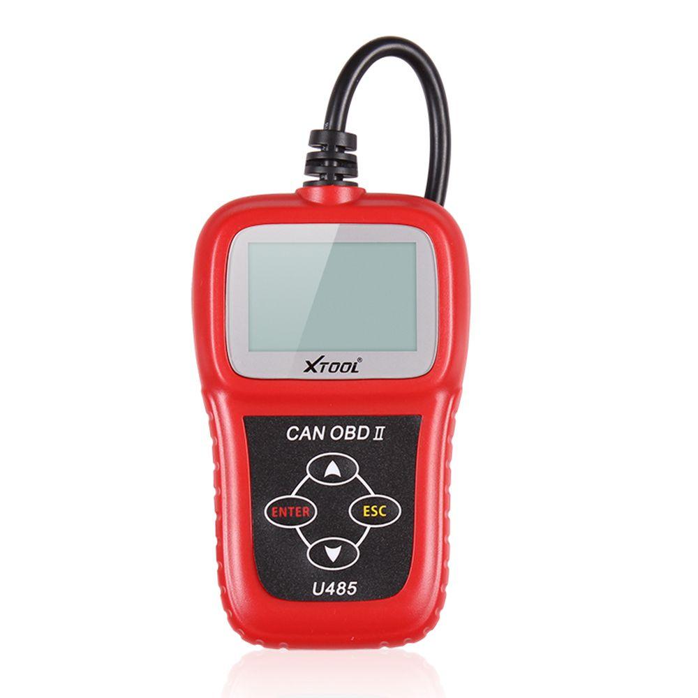 Le scanner de diagnostic de lecteur de code automatique de bus de XTOOL U485 EOBD OBD2 peut lire clairement les DTC soutiennent des voitures multi-marques