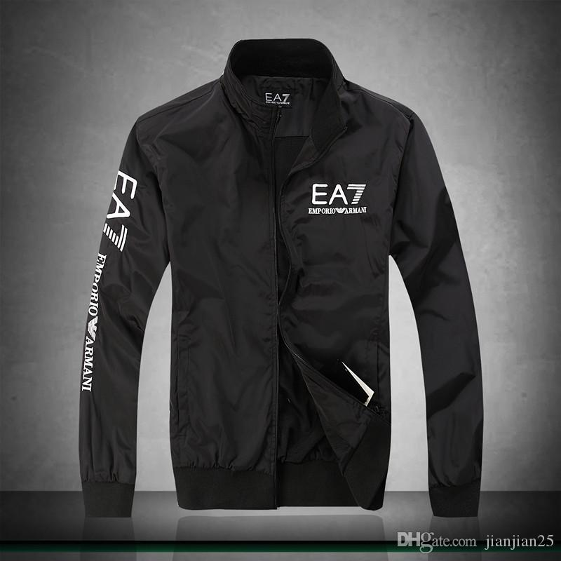 Cross-border supply 2019 new designer high-end jacket men's jacket fashion explosion models men's stand collar cotton jacket