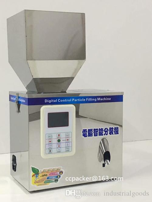 Digital Control Weighing Racking Machine 1-30grams with BIG Hooper Automatic sensors discharging Powder Filling equipment for small business