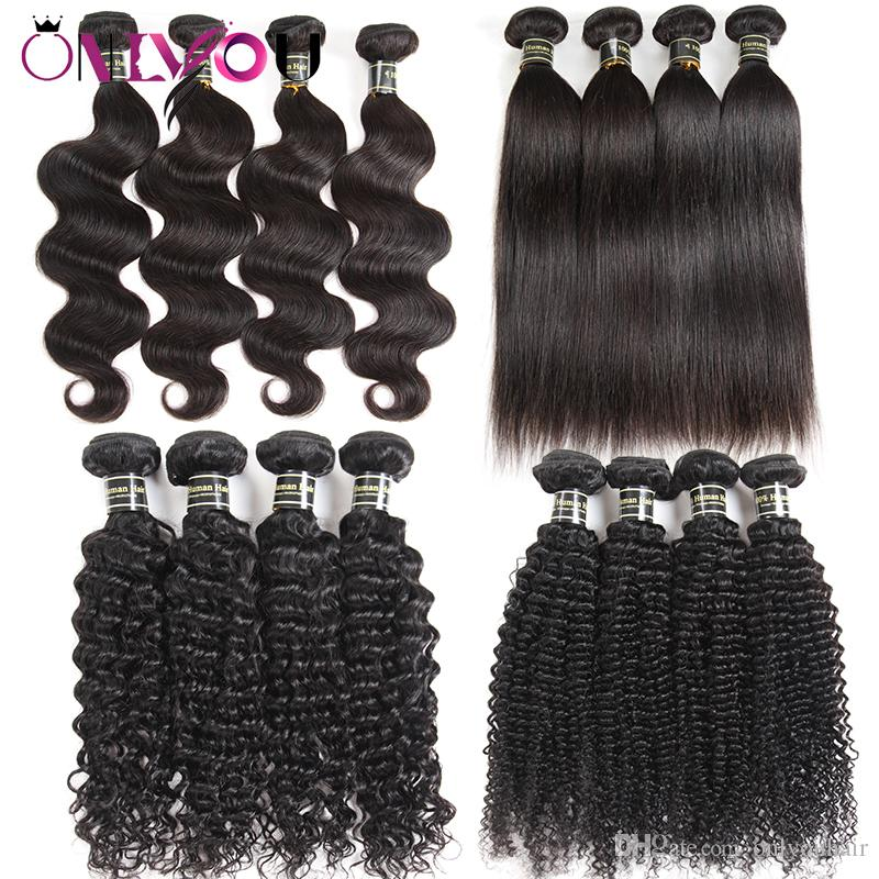 Unprocessed Cheap 9a Brazilian Straight Virgin Human Hair Bundles Body Wave Kinky Curly Human Hair Weaves Raw Indian Remy Human Hair Vendors