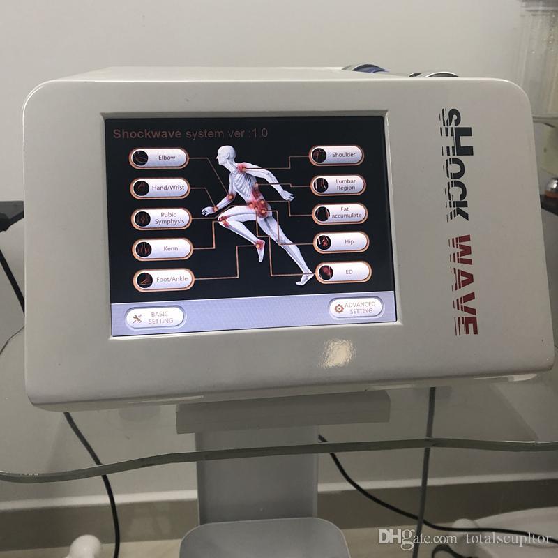 Equipo de terapia de la onda de choque extracorpórea de baja intensidad de la fisioterapia equipo de la terapia de la tecnología de la máquina de la ampliación del pene del tratamiento de la fisioterapia