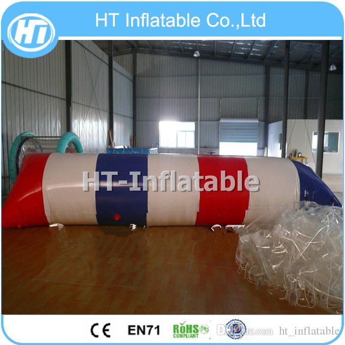 Frete Grátis 8x3 m Alta Qualidade Inflável Água Catapulta Blob / Brinquedos Infláveis de Água / Blob Água Saltar Para Venda