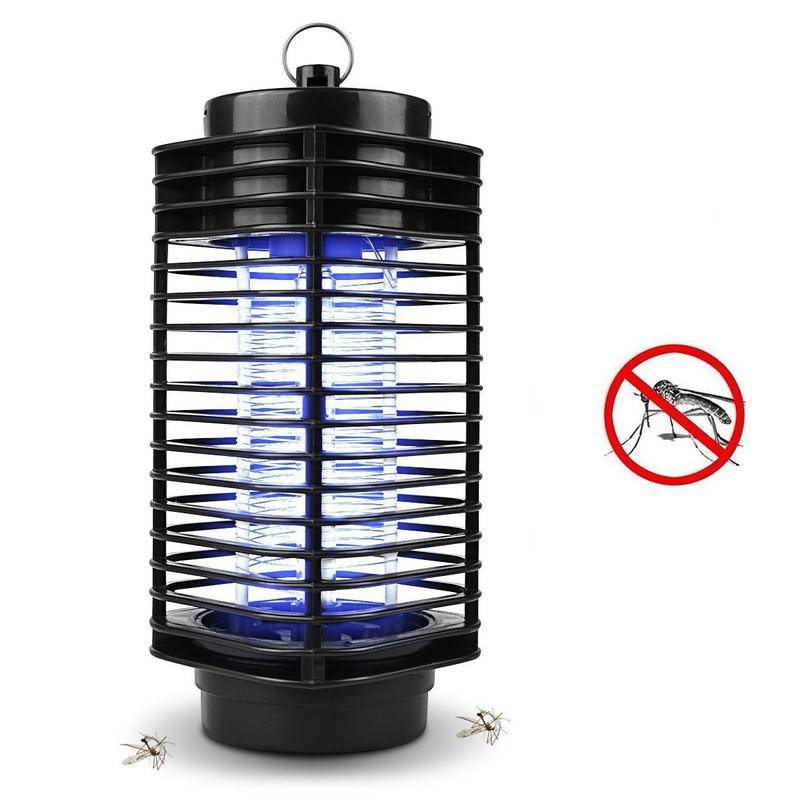 ELECTRONIC UV LIGHT MOSQUITO INSECT KILLER TRAP LAMP PEST FLY BUG ZAPPER INDOOR