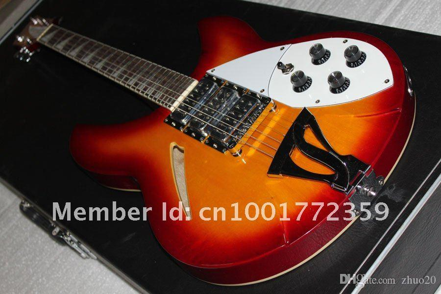 Ric25 ucuz! Toptan 6strings JAZZ 3 pikap özel standart elektro gitar