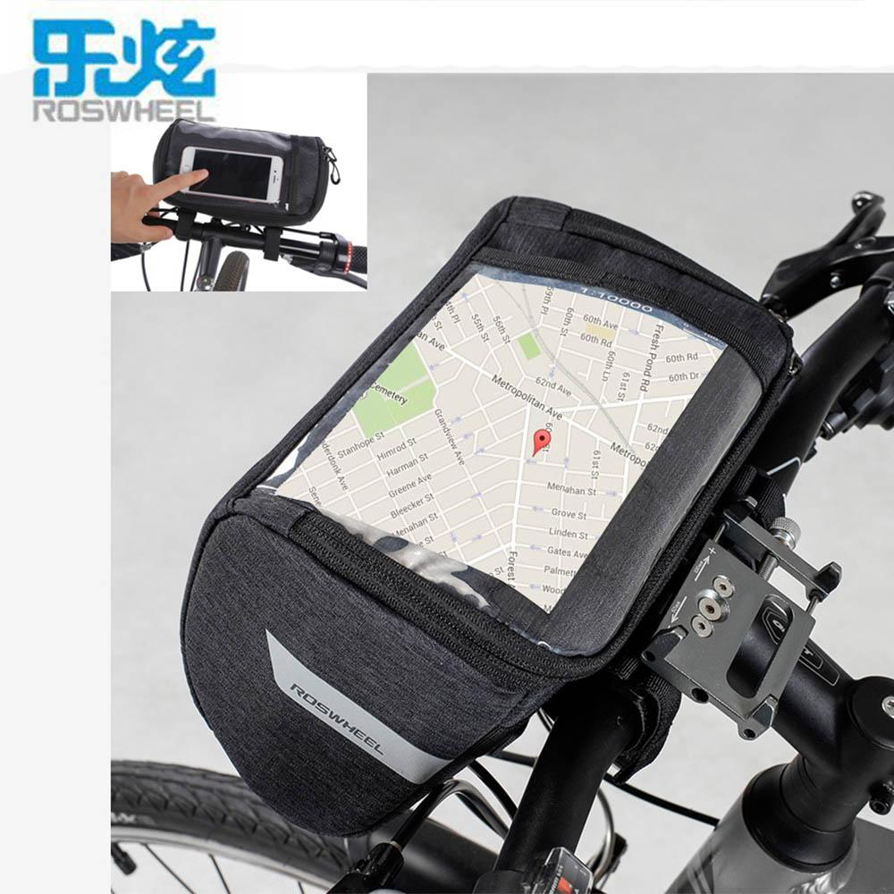 3L Roswheel Bike Bicycle Front Frame Pannier Handlebar Bag Pannier Waterproof