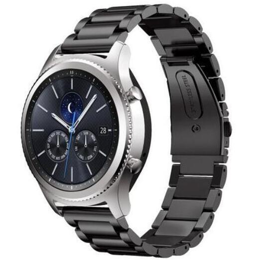 20mm 22mm Edelstahl-Bügel Huami amazfit bip Tempo lite S2 huawei Uhr 2 für Samsung S3 Klassische Frontier beobachten Band